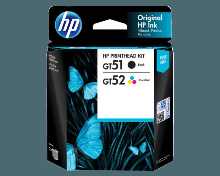 HP GT51/GT52 黑色/三色打印头更换套件(适用于HP Deskjet  GT 5810/5820;HP Ink Tank 310系列/HP Ink Tank WL410系列)