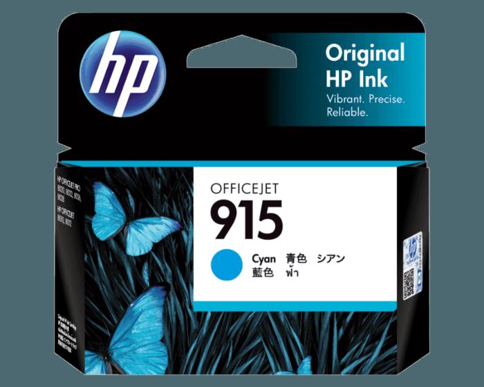 HP 915 青色原装墨盒