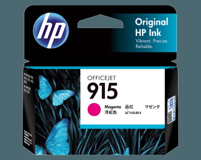 HP 915 洋红色原装墨盒