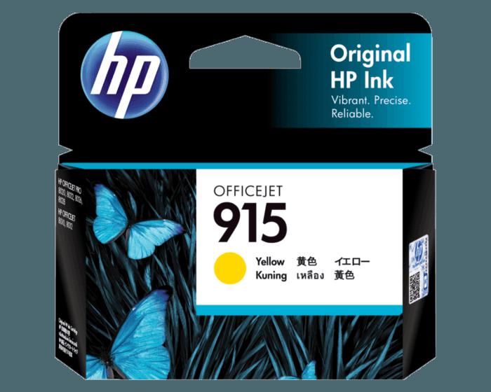 HP 915 黄色原装墨盒