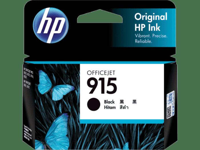 HP 915 黑色原装墨盒