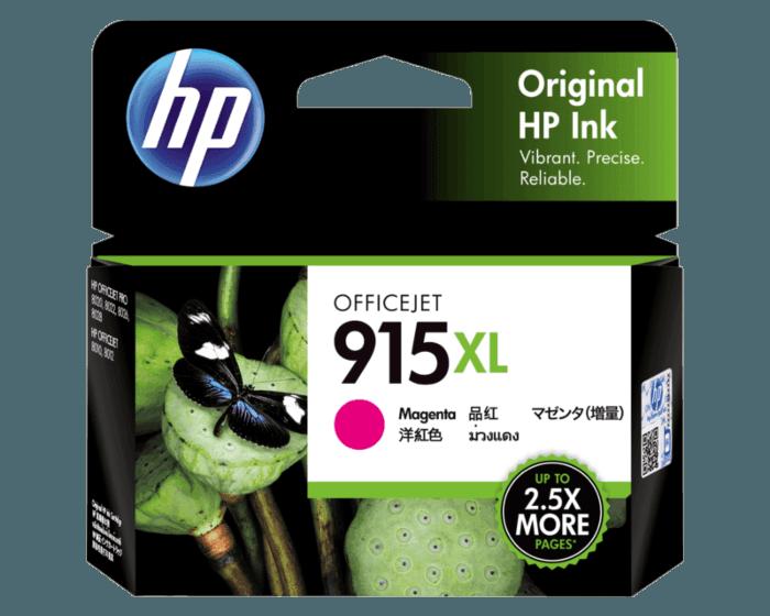 HP 915XL 高印量洋红色原装墨盒