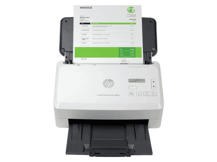 HP ScanJet Enterprise Flow 5000 s5 企业级馈纸式扫描仪