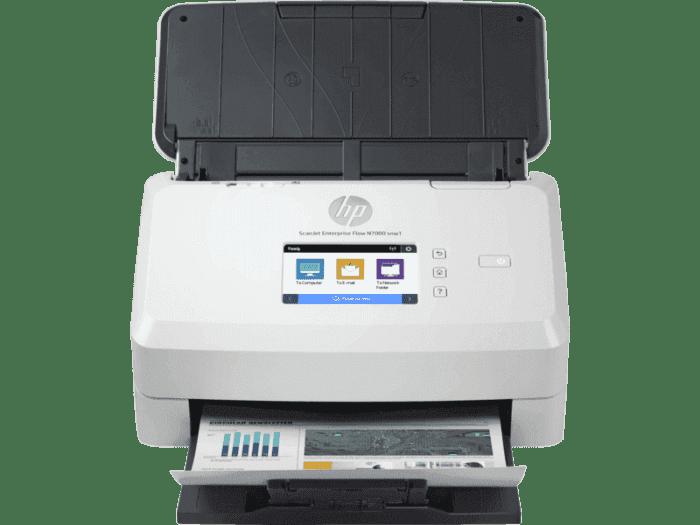 HP ScanJet Enterprise Flow N7000 snw1 企业级馈纸式扫描仪
