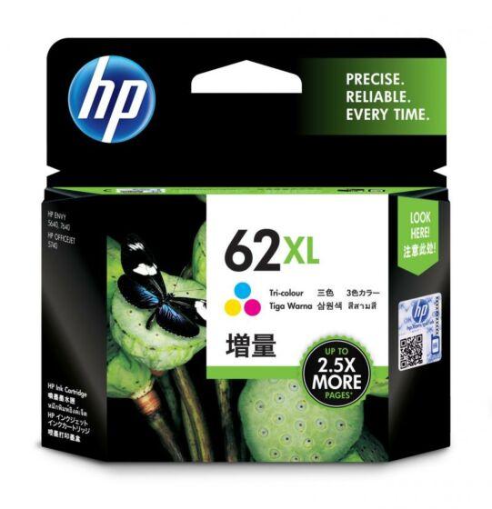 HP 62XL 高印量彩色原装墨盒