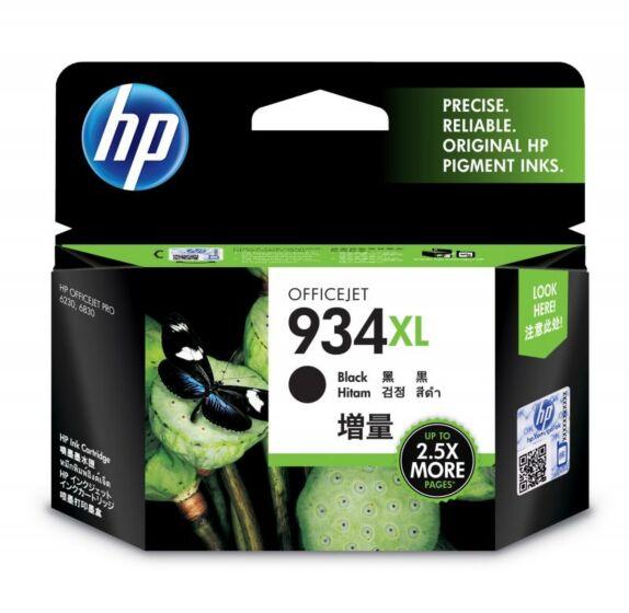 HP 934XL 高收益黑色原装墨盒