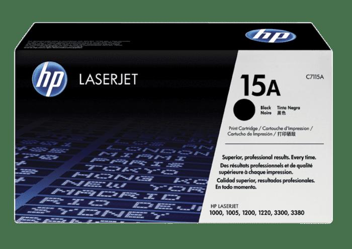 HP 15A 黑色原装 LaserJet 硒鼓