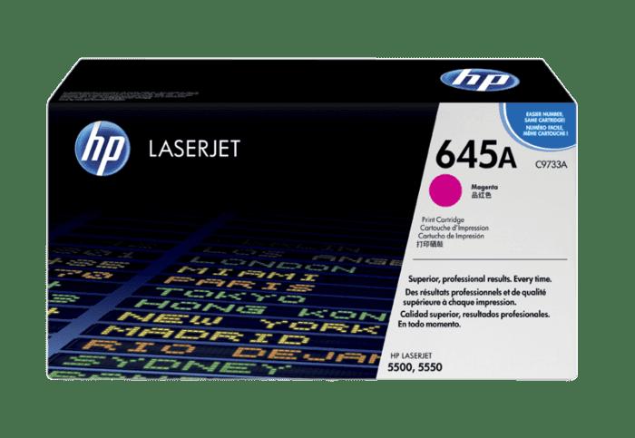 HP 645A 品红色原装 LaserJet 硒鼓