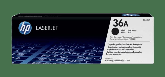 HP 36A 黑色原装 LaserJet 硒鼓