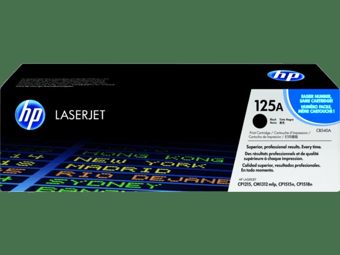 HP 125A 黑色原装 LaserJet 硒鼓