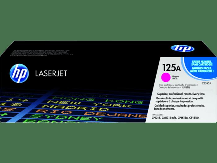 HP 125A 品红色原装 LaserJet 硒鼓