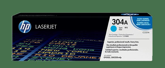HP 304A 青色原装 LaserJet 硒鼓