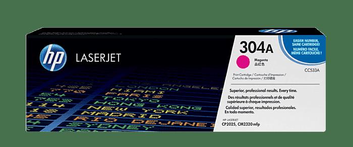 HP 304A 品红色原装 LaserJet 硒鼓