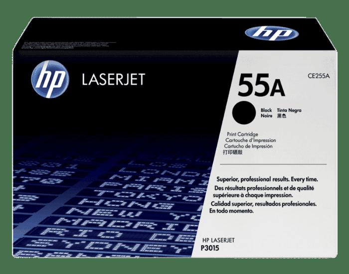 HP 55A 黑色原装 LaserJet 硒鼓