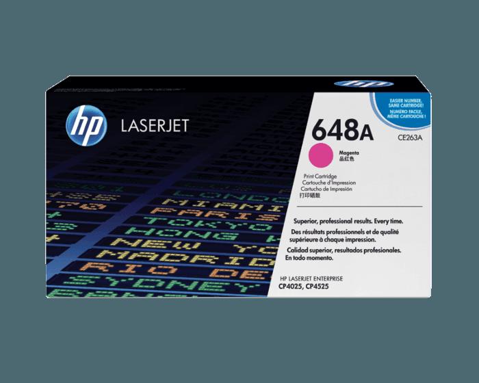 HP 648A 品红色原装 LaserJet 硒鼓
