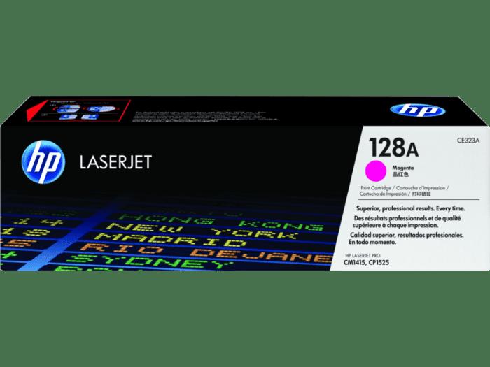 HP 128A 品红色原装 LaserJet 硒鼓