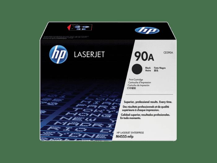 HP 90A 黑色原装 LaserJet 硒鼓