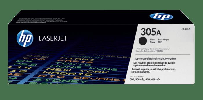 HP 305A 黑色原装 LaserJet 硒鼓