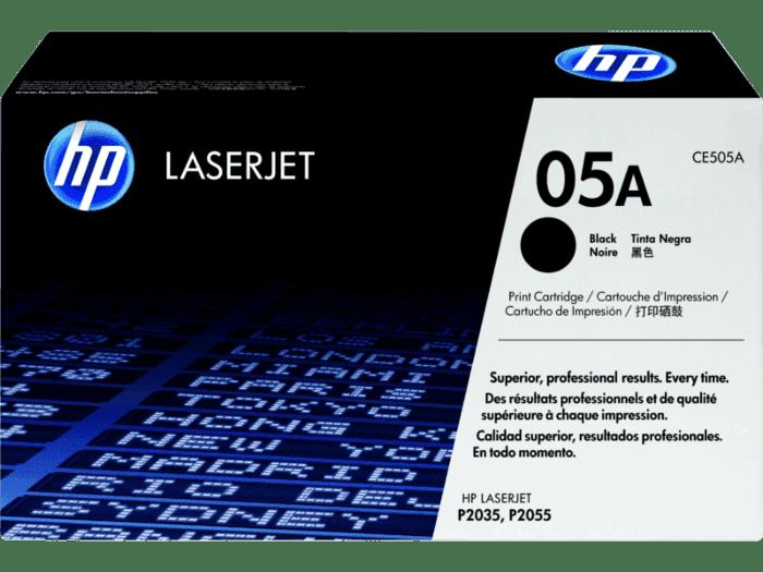 HP 05A 黑色原装 LaserJet 硒鼓