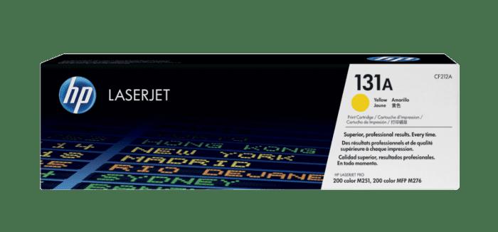 HP 131A 黄色原装 LaserJet 硒鼓