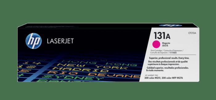HP 131A 品红色原装 LaserJet 硒鼓
