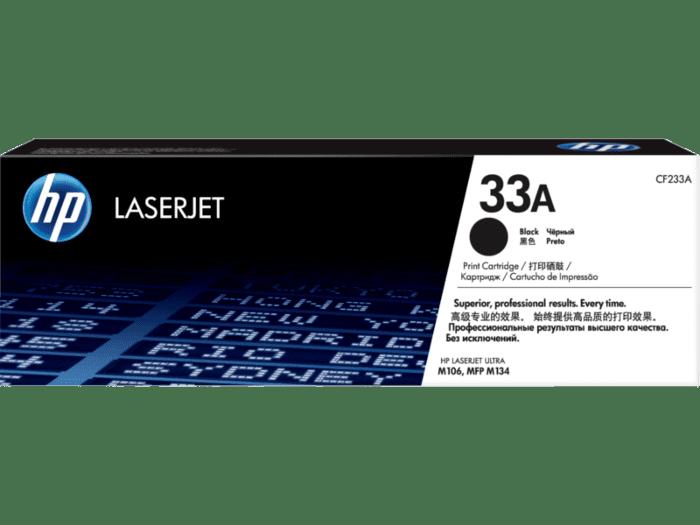HP LaserJet 33A 黑色原装硒鼓(适用HP LaserJet Ultra M106/M134系列)