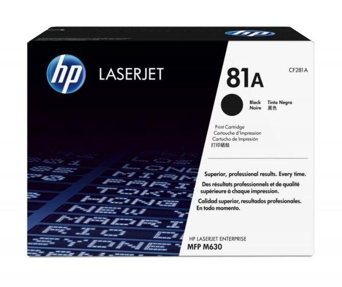 HP LaserJet 81A 黑色原装硒鼓