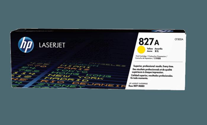 HP 827A 黄色原装 LaserJet 硒鼓