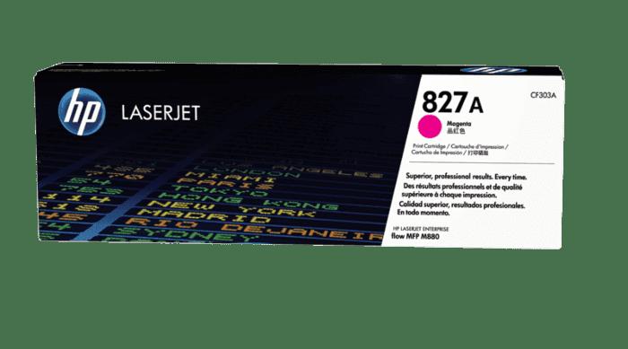HP 827A 品红色原装 LaserJet 硒鼓