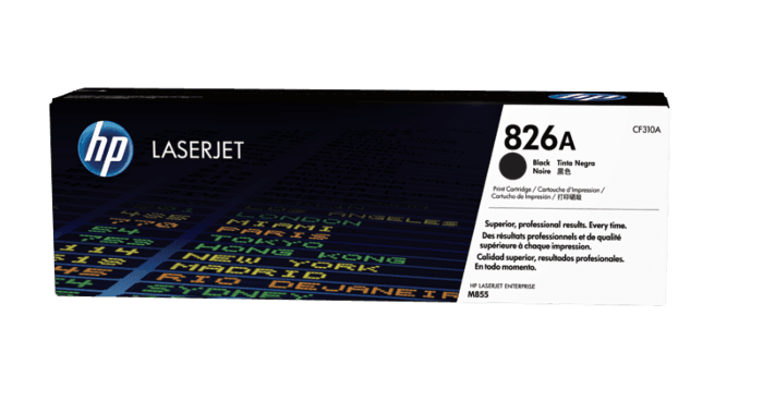 HP 826A 黑色原装 LaserJet 硒鼓