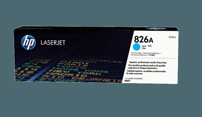 HP 826A 青色原装 LaserJet 硒鼓