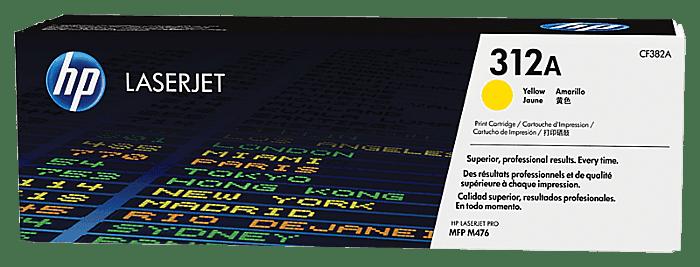 HP LaserJet 312A 黄色原装硒鼓