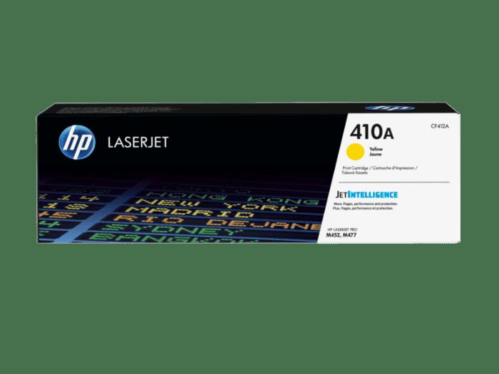 HP LaserJet 410A 黄色原装硒鼓