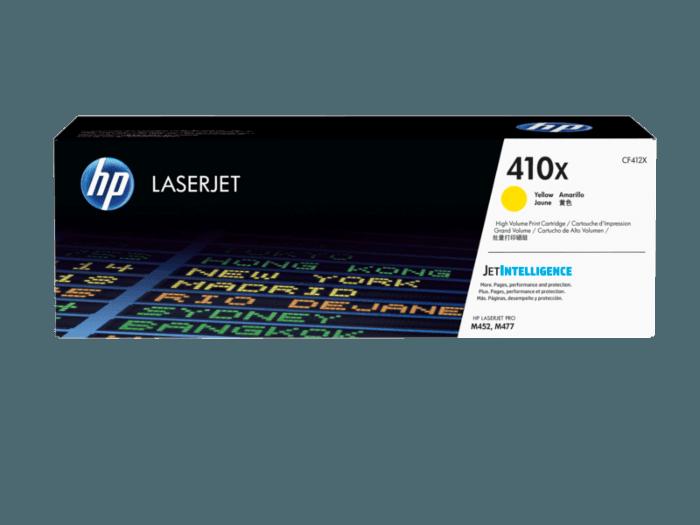 HP LaserJet 410X 高印量黄色原装硒鼓