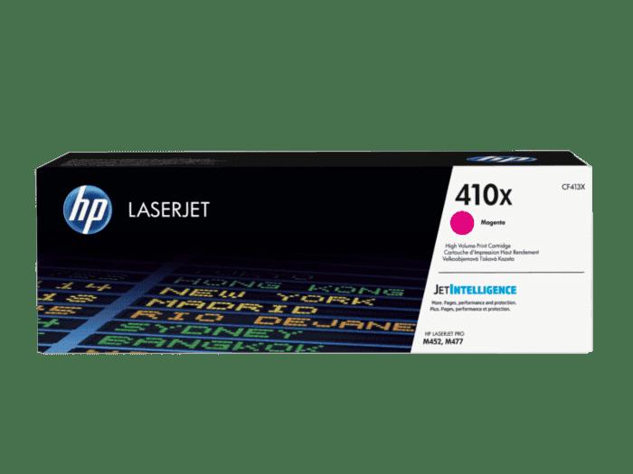 HP LaserJet 410X 高印量品红色原装硒鼓