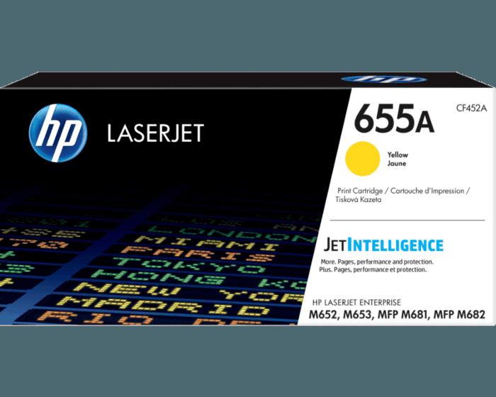 HP LaserJet 655A 黄色原装硒鼓