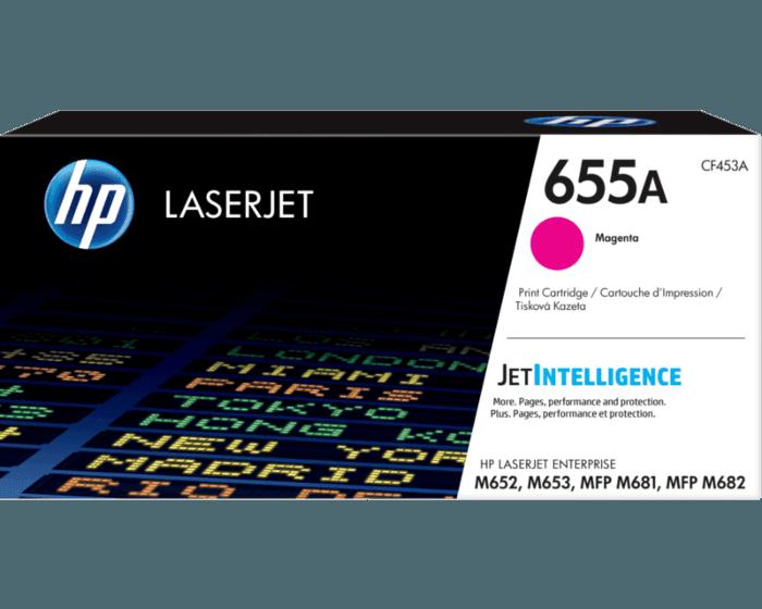 HP LaserJet 655A 品红色原装硒鼓