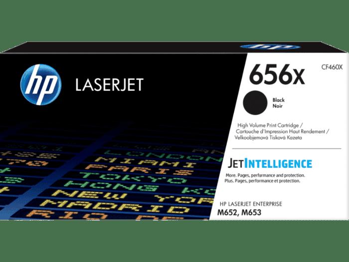 HP LaserJet 656X 高印量黑色原装硒鼓