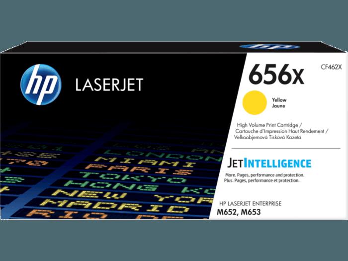 HP LaserJet 656X 高印量黄色原装硒鼓