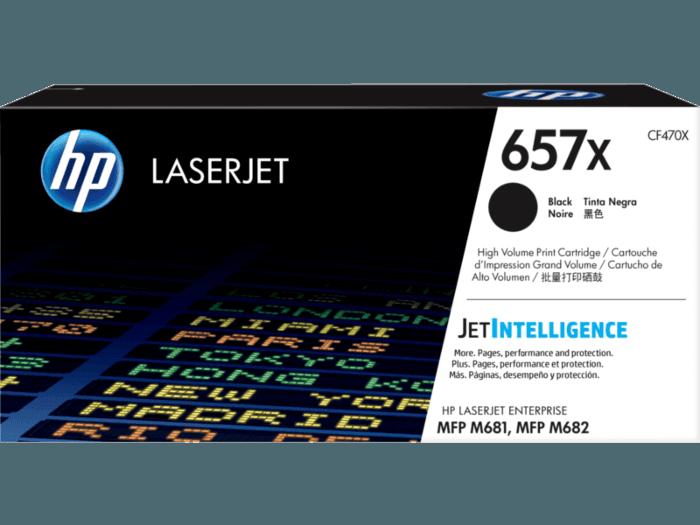 HP LaserJet 657X 高印量黑色原装硒鼓