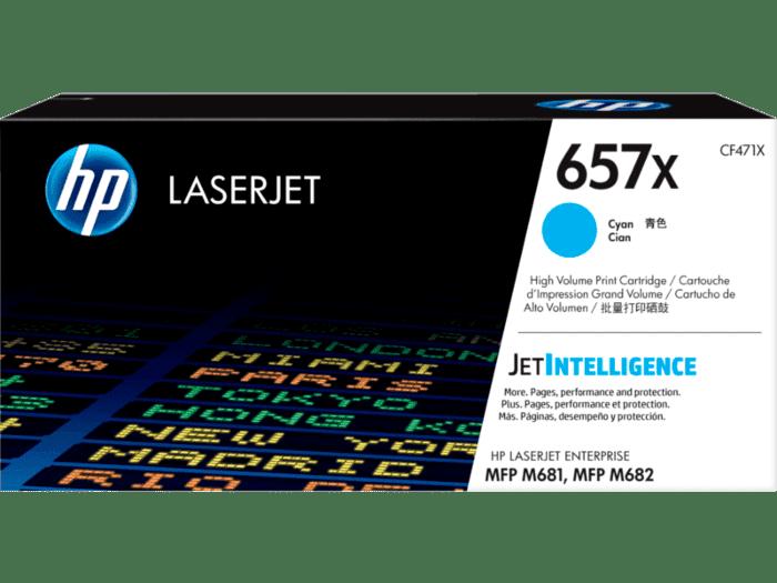 HP LaserJet 657X 高印量青色原装硒鼓