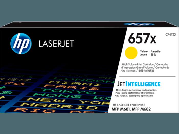 HP LaserJet 657X 高印量黄色原装硒鼓