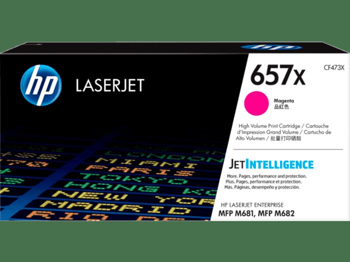 HP LaserJet 657X 高印量品红色原装硒鼓