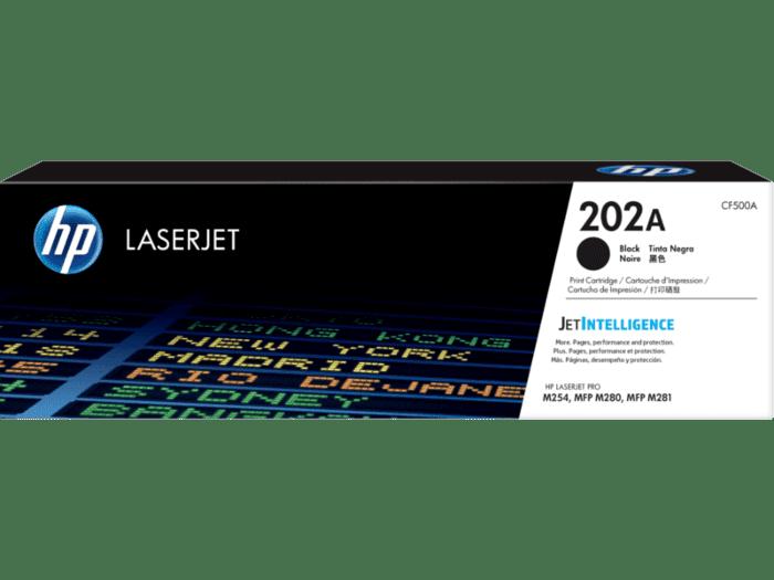 HP LaserJet 202A 黑色原装硒鼓