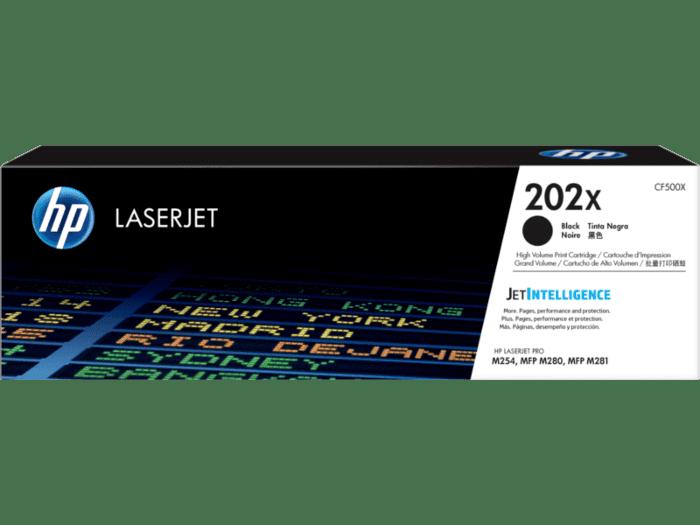 HP LaserJet 202X 高印量黑色原装硒鼓