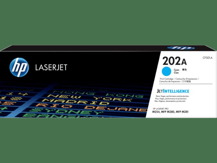HP LaserJet 202A 青色原装硒鼓
