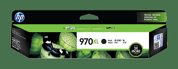 惠普 970XL 高收益黑色原装耗材