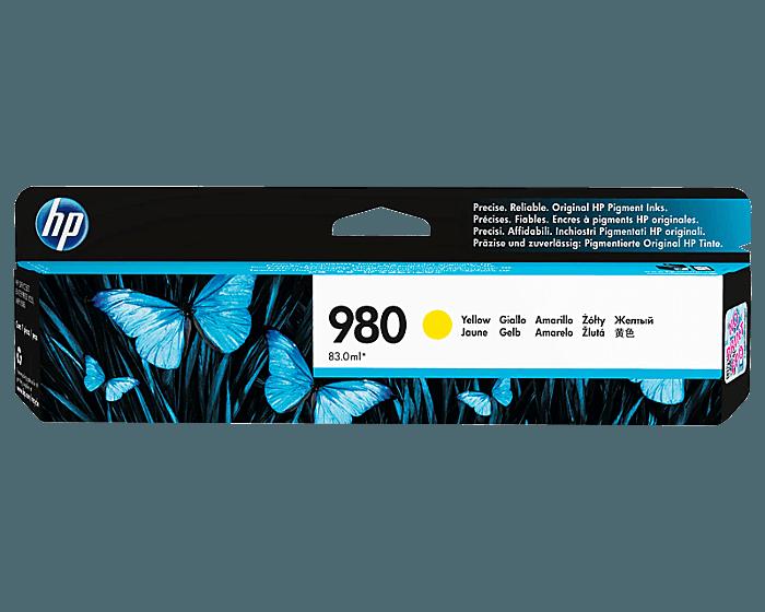 HP 980 号黄色原装耗材