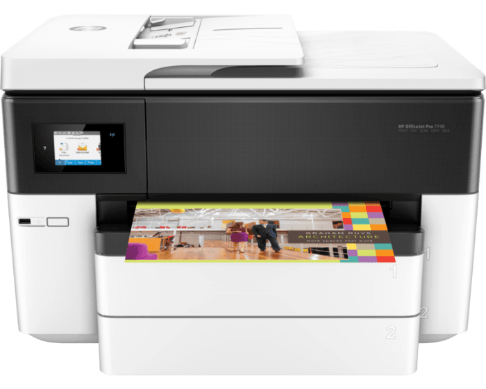 HP OfficeJet Pro 7740 宽幅多功能一体机