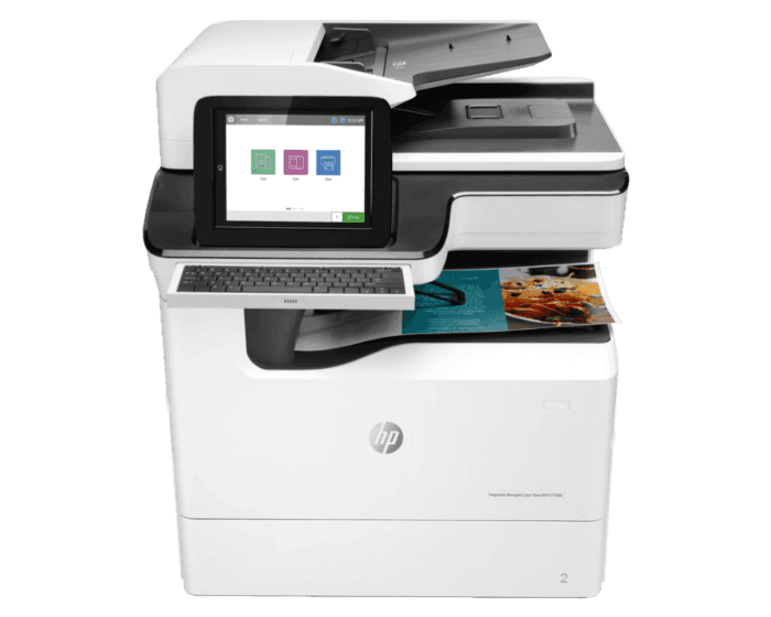 HP PageWide Managed Color Flow MFP E77660zs管理型彩色页宽复合机